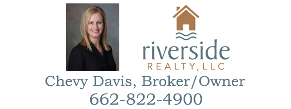 Chevy Davis, Broker/Owner - Riverside Realty LLC - Greenville, MS Real Estate for Sale